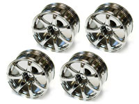 Austar 7-Spokes Aluminum Wheel Chrome 26mm 4pcs