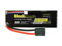 Black Magic 2S1P LiPo Battery 7.4V 5000mAh 35C Traxxas Plug Hardcase (нажмите для увеличения)
