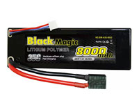 Black Magic 2S1P LiPo Battery 7.4V 8000mAh 35C Traxxas Plug Hardcase (нажмите для увеличения)