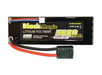 Black Magic 2S1P LiPo Battery 7.4V 5000mAh 50C Traxxas Plug Hardcase (нажмите для увеличения)