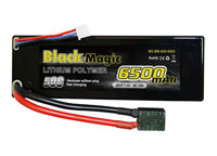 Black Magic 2S1P LiPo Battery 7.4V 6500mAh 50C Traxxas Plug Hardcase (нажмите для увеличения)