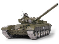 Russian T72 Airsoft /IR RC Battle Tank 1:16 Professional V6.0 with Smoke 2.4GHz