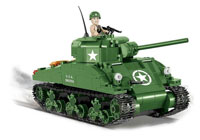 Cobi Historical Collection WW2. Sherman M4A1 US Tank (нажмите для увеличения)