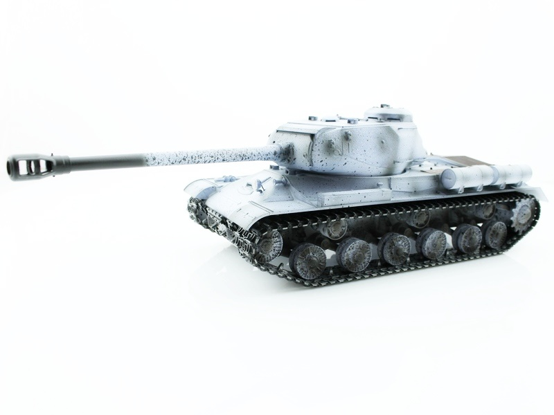 IS-2 1944 Winter IR RC Tank 1:16 Metal with Smoke 2.4GHz