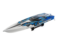 Spartan TSM Brushless Race Boat Blue TQi 2.4GHz RTR