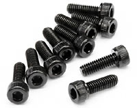 Cap Head Screw M8x8mm 1.5mm Hex Socket 10pcs