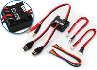 Traxxas Dual Charging Adapter for 2S LiPo Batteries