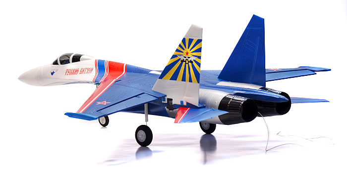 Радиоуправляемый самолет Art-Tech Su-27 Russian Knight Brushless EDF Jet 2.4GHz RTF (21094) (нажмите для увеличения)