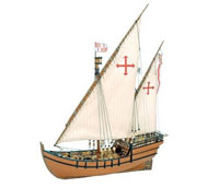 Artesania Latina La Niña 1492 Caravel Wooden Model Ship 1/65