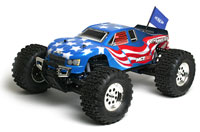Associated Limited Edition MGT8.0 with Flag Body 2.4GHz RTR (нажмите для увеличения)