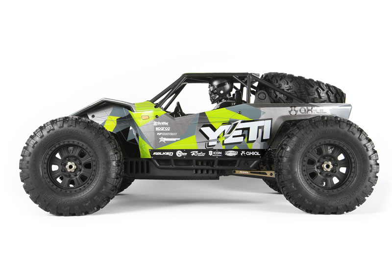 Радиоуправляемая машина Axial Yeti XL 1/8 4WD Electric Monster Buggy Kit (AX90038) (нажмите для увеличения)