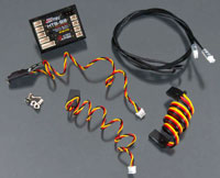 Hitec HTS-SS Basic Telemetry Pack with Magnetic RPM Sensor