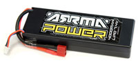 Arrma Power LiPo 7.4V 4000mAh 25C Hard Case Deans Plug (нажмите для увеличения)