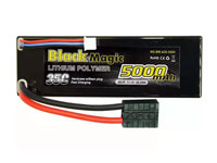 Black Magic 3S1P LiPo Battery 11.1V 5000mAh 35C Traxxas Plug Hardcase (нажмите для увеличения)