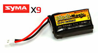 Black Magic LiPo Battery 3.7V 500mAh 20C Syma X9