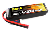 Black Magic 4S LiPo Battery 14.8V 4500mAh 50C with T-Plug (нажмите для увеличения)