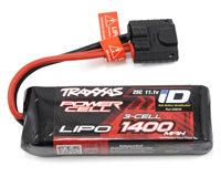 Traxxas Power Cell 2S LiPo Battery 11.1V 1400mAh 25C with iD Traxxas Connector