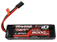 Traxxas Power Cell 3S LiPo Battery 11.1V 5000mAh 25C with iD Traxxas Connector