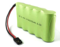 VBPower NiMh 4/5A Battery 6V 2000mAh Receiver Pack (нажмите для увеличения)