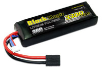 Black Magic 3S LiPo Battery 11.1V 3300mAh 30C with Traxxas Connector (нажмите для увеличения)