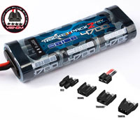 Team Orion Rocket Pack 2 NiMh 7.2V 4700mAh Venom Plug (нажмите для увеличения)