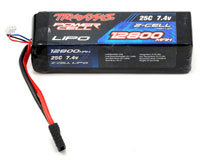 Traxxas Power Cell 2S LiPo Battery 7.4V 12800mAh 25C with Traxxas Connector