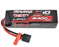 Traxxas Power Cell 3S LiPo Battery 11.1V 8400mAh 25C with iD Traxxas Connector