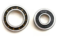 Front 7x17x5mm and Rear 12x21x5mm Engine Ball Bearings TRX 3.3