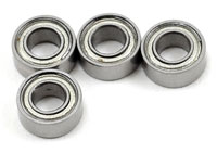 Bearings 3x6x2.5mm MR63ZZ 4pcs