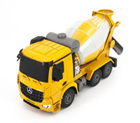 Mercedes-Benz Arocs Cement Mixer Yellow 1:26 2.4GHz (нажмите для увеличения)