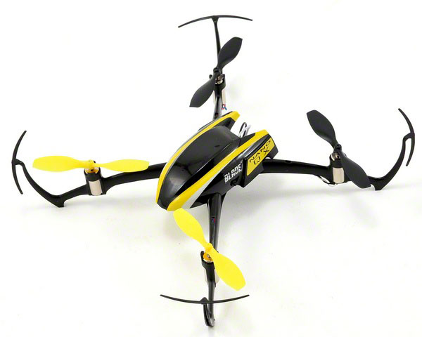 Радиоуправляемый квадрокоптер Blade Nano QX Micro Electric Quad-Copter SAFE 2.4GHz RTF (BLH7600) (нажмите для увеличения)