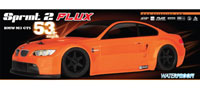BMW M3 GTS Orange Sprint 2 Flux Waterproof 2.4GHz RTR