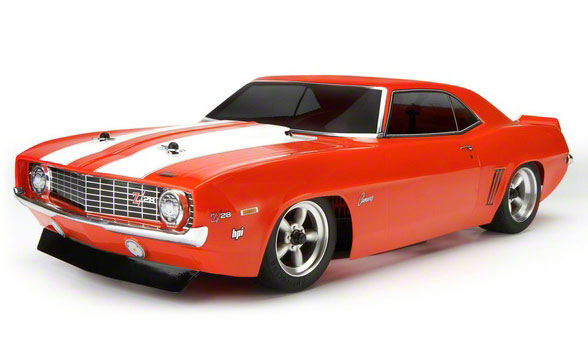 Радиоуправляемая машина Chevrolet Camaro 1969 Sprint 2 Waterproof 2.4GHz RTR (HPI-106133) (нажмите для увеличения)