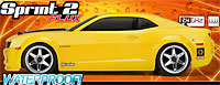 Chevrolet Camaro 2010 Sprint 2 Flux Waterproof 2.4GHz RTR