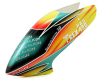 Painted Canopy Yellow/Orange/Green T-Rex 450 Pro
