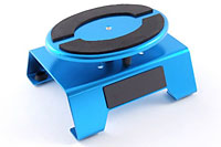 Aluminium Locking Rotating Car Maintenance Stand Blue (нажмите для увеличения)