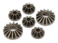 Diff Bevel Gear Set Bullet
