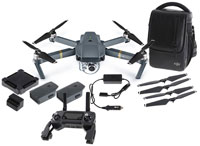 DJI Mavic Pro Drone with 4K-Camera Combo Pack