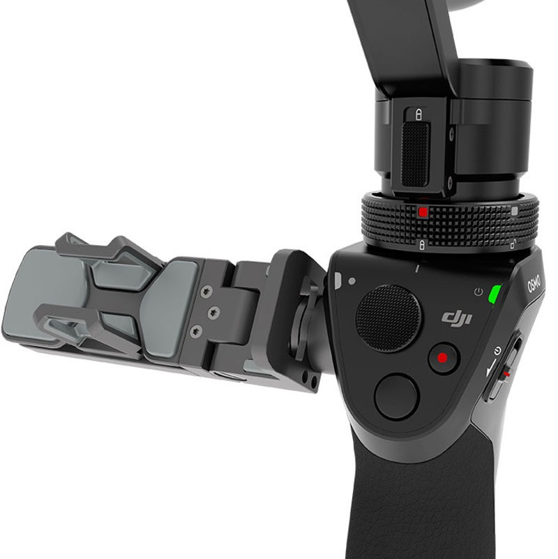 Ручной стедикам DJI Osmo Handheld 4K-Camera and 3-Axis Gimbal (DJI-OSMO) (нажмите для увеличения)