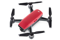 DJI Spark Red Drone with Camera