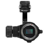 DJI Zenmuse X5 Gimbal and 4K-Camera Unit without Lens