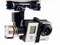 DJI Zenmuse H3-2D 2-Axis Gimbal for GoPro Hero 3 (нажмите для увеличения)