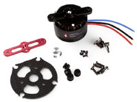 DJI S800 EVO Brushless Motor 4114 Pro 400kV with Red Prop Cover (нажмите для увеличения)