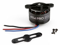 DJI S900 4114 Pro Brushless Motor 400kV with Black Prop Cover (нажмите для увеличения)