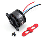 DJI S900 4114 Pro Brushless Motor 400kV with Red Prop Cover (нажмите для увеличения)