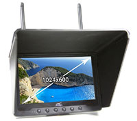 Flysight Black Pearl 7inch HD FPV Monitor 5.8GHz (нажмите для увеличения)