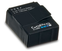 GoPro Rechargeable Li-Ion Battery 3.7V 1180mAh HERO3/HERO3+ (нажмите для увеличения)