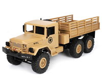 Aosenma WPL B-16 Military Truck 6x6 Sand Yellow 1:16 2.4GHz