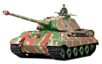 German King Tiger Production Turret Airsoft RC Battle Tank 1:16 with Smoke RTR (нажмите для увеличения)