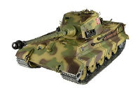 German King Tiger Henschel Turret Airsoft RC Battle Tank 1:16 with Smoke 2.4GHz